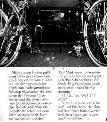 bikeinside produkt fahrradtr ger innenraum skoda. Black Bedroom Furniture Sets. Home Design Ideas
