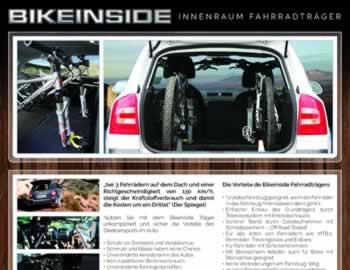 bikeinside produkt fahrradtr ger skoda innenraum. Black Bedroom Furniture Sets. Home Design Ideas
